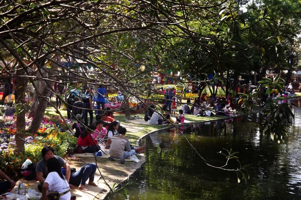 Suan Buak Hat Park, Chiang Mai.