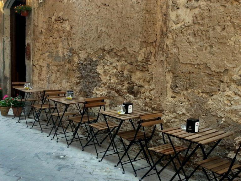 Siracusa, ristoranti all'aperto