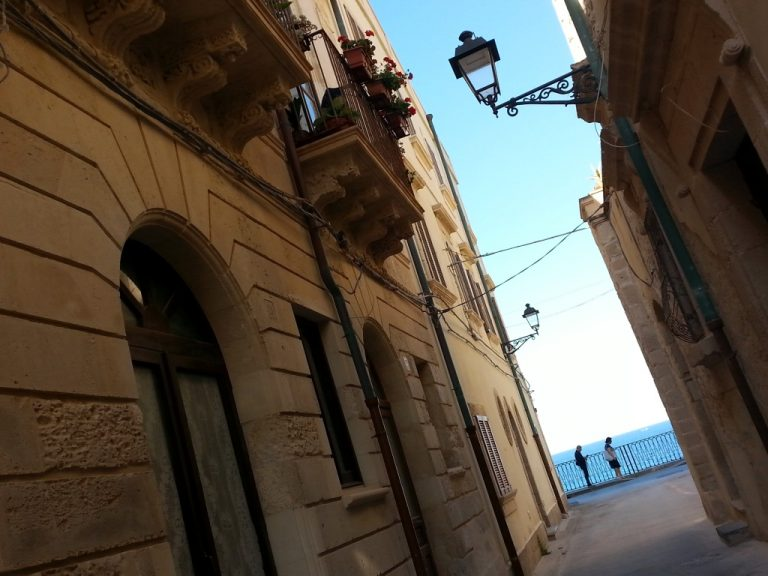 Ortigia, via del centro